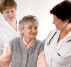 assisting an elderly